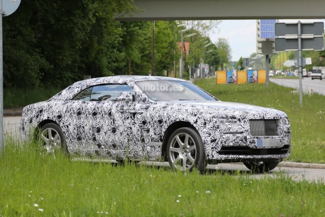 Rolls-Royce Wraith Drophead Coupe, primeras fotos espía
