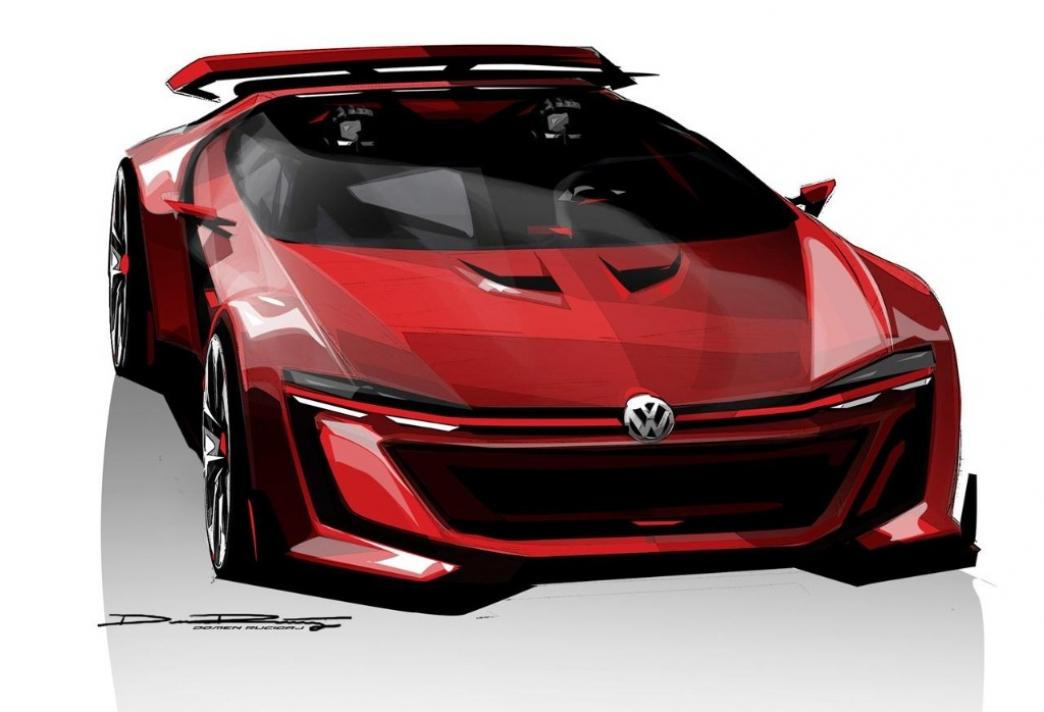 Volkswagen Golf GTI Roadster Vision Gran Turismo