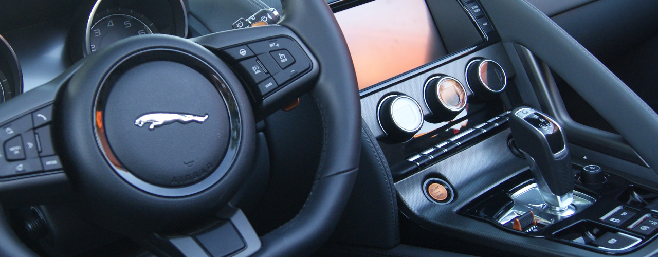 Jaguar F-Type 3.0 V6 S 380cv Convertible, interior