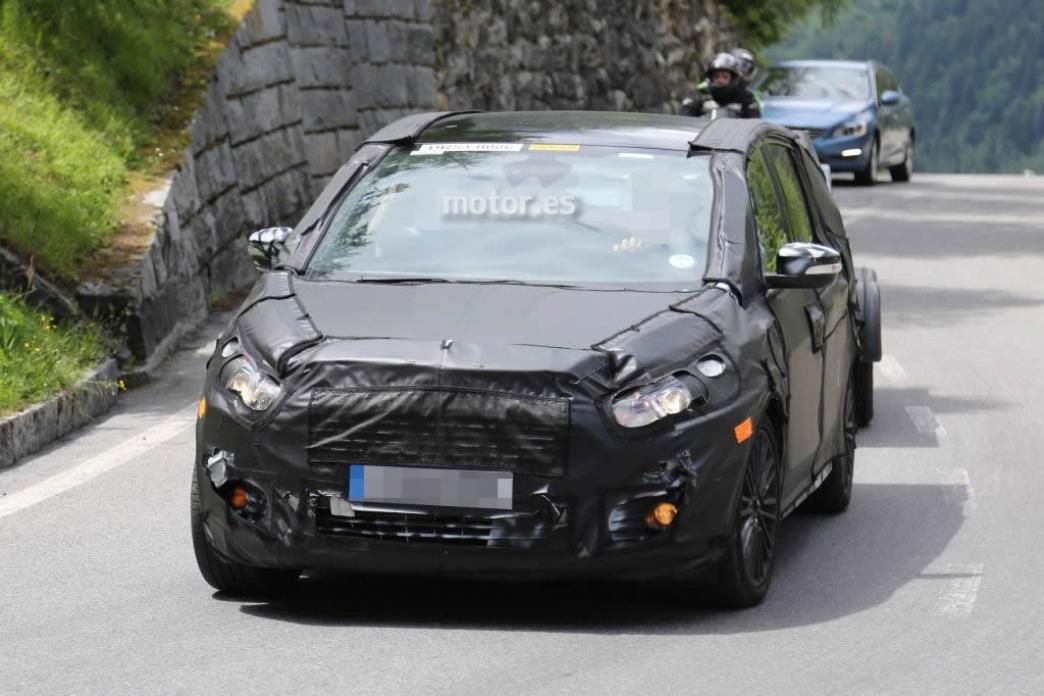 El nuevo Ford S-Max  se pone a punto