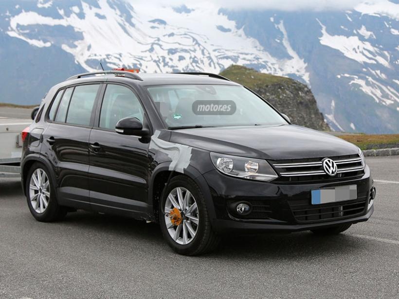 Más imágenes del restyling del Volkswagen Tiguan 2015