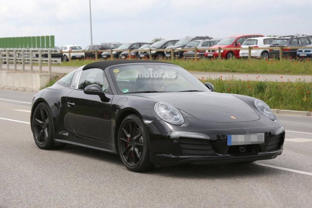 Porsche 911 Targa GTS 2015, el restyling también llegará al 'Targa'