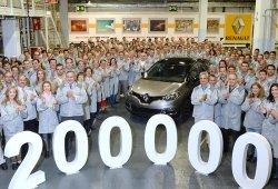 200.000 Renault Captur fabricados en Valladolid