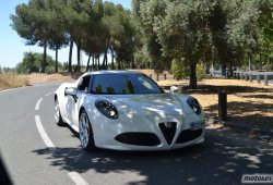 Alfa Romeo 4C, impresiones de conducción y detalles técnicos (II)