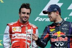 Alonso y Vettel: pierden, pero no abandonan