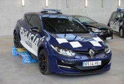 Dos Renault Mégane RS para la Policía Municipal de Madrid