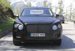 El SUV de Bentley, camuflado con su aspecto definitivo