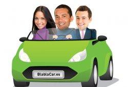Multas por compartir coche, diferencias entre Uber y BlaBlaCar