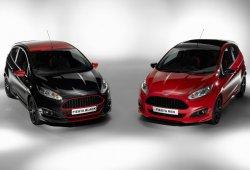 Ford Fiesta Red Edition y Black Edition, negro sobre rojo (o viceversa) y 140 CV