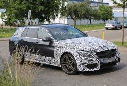 Mercedes C63 AMG Estate 2015, cazado de nuevo