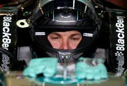 Rosberg, por primera vez, el más rápido de los primeros libres
