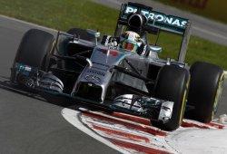 Hamilton y Rosberg comandan los segundos libres por delante de Vettel