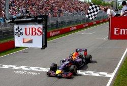 Ricciardo logra una épica victoria sobre Rosberg