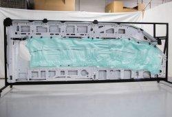 La Ford Transit estrena un airbag de cortina que cubre cinco filas de asientos