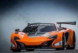 McLaren 650S GT3, ya está aquí la variante de competición