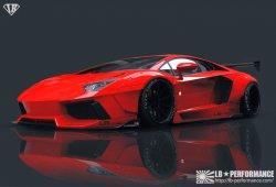 Paquete deportivo Liberty Walks para el Lamborghini Aventador