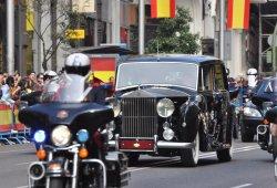 El Rolls-Royce de la coronación del rey Felipe VI