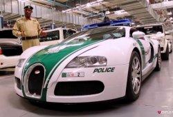 Todos los coches de la Policía de Dubai