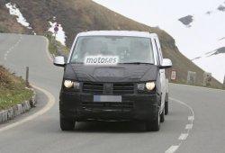 Volkswagen T6, la nueva generación de la furgoneta de pruebas