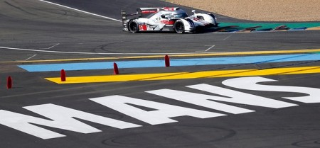 En directo, el final de carrera en Le Mans