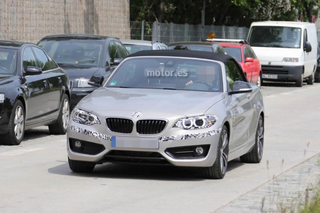 Nuevas fotos espía del BMW Serie 2 Cabrio