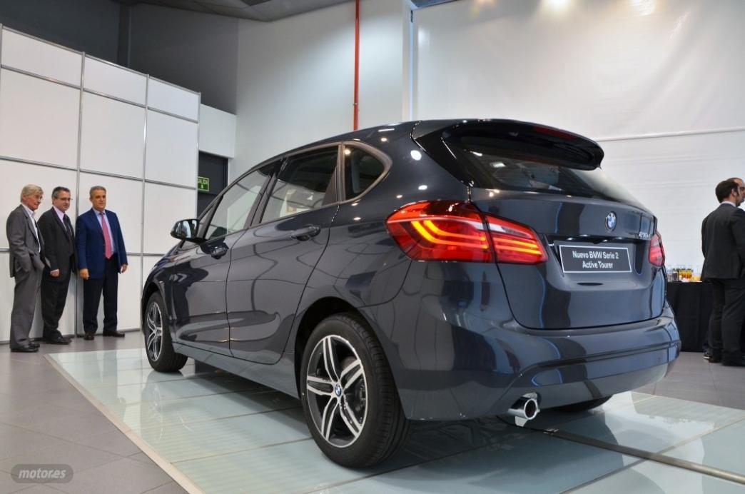 BMW Serie 2 Active Tourer, primer contacto (II): Diseño exterior e interior, habitabilidad y maletero