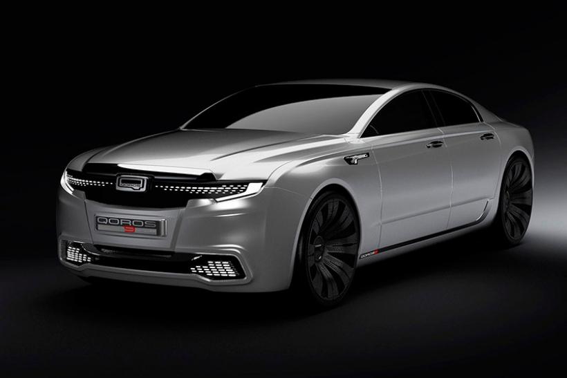 Qoros 9 Sedan Concept, interpretación china para el coche urbano del 2020