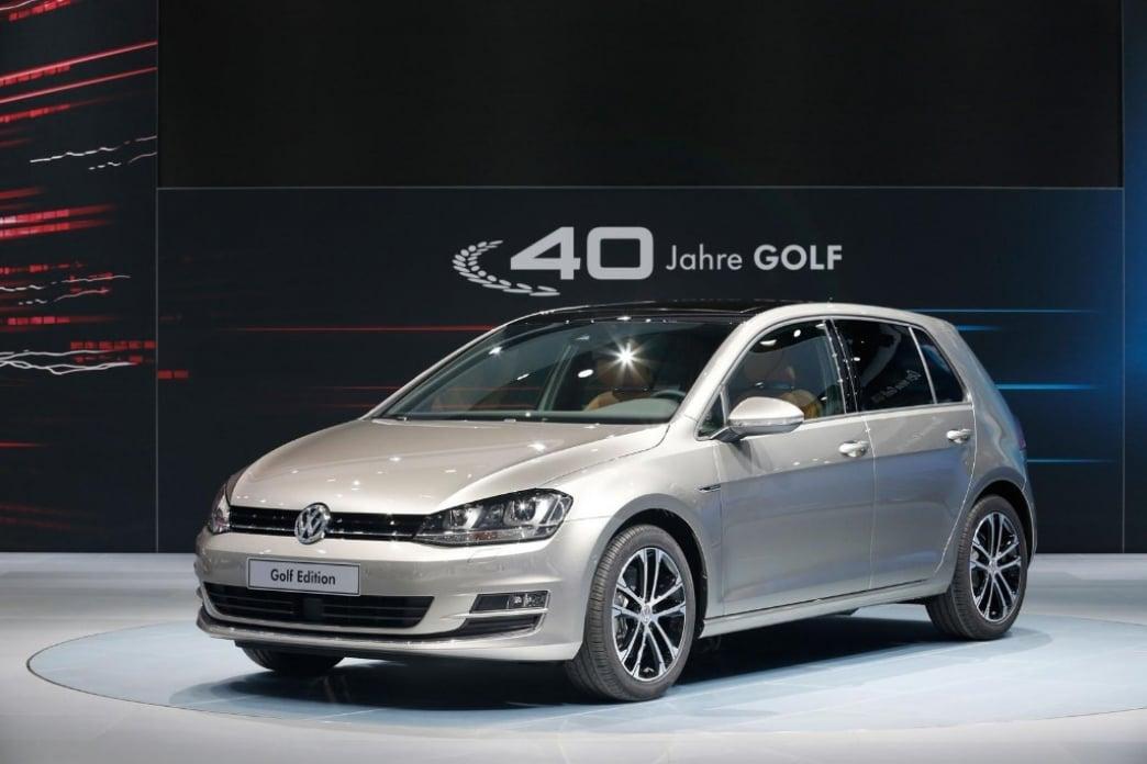 Volkswagen Golf VII Edition: edición especial para celebrar los 40 años del Golf