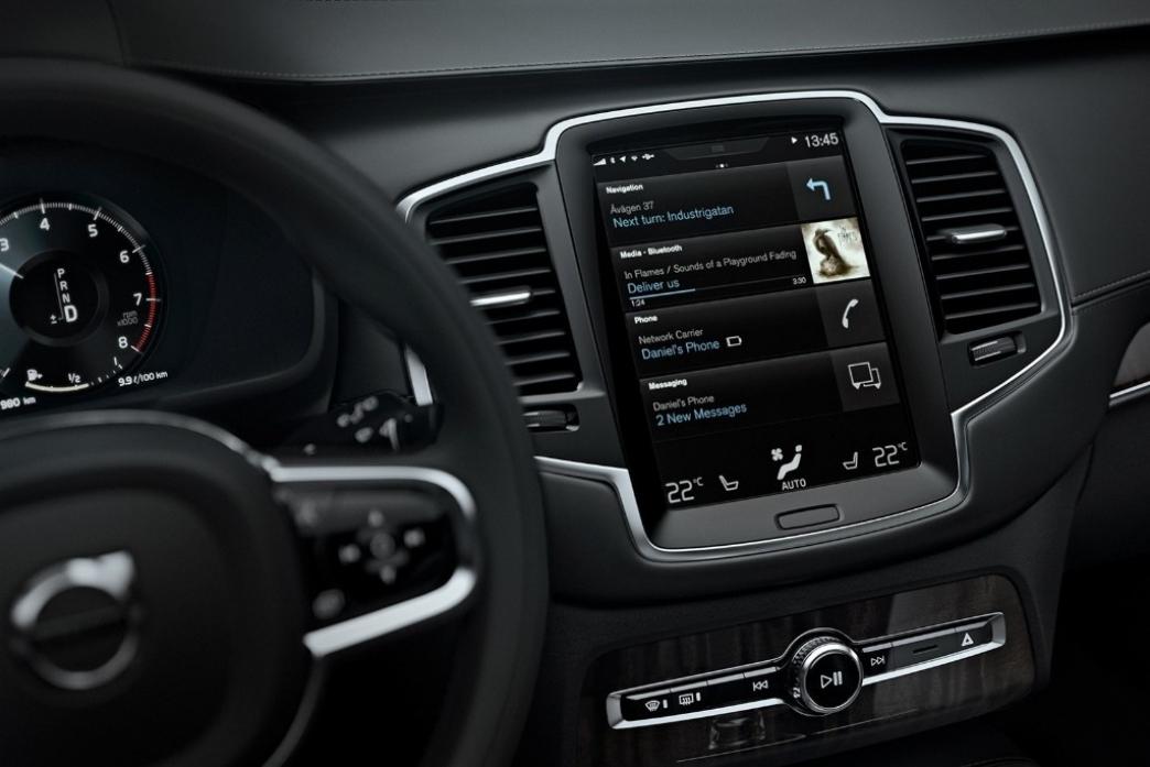 Volvo nos presenta una completa tanda de vídeos del sistema multimedia del XC90