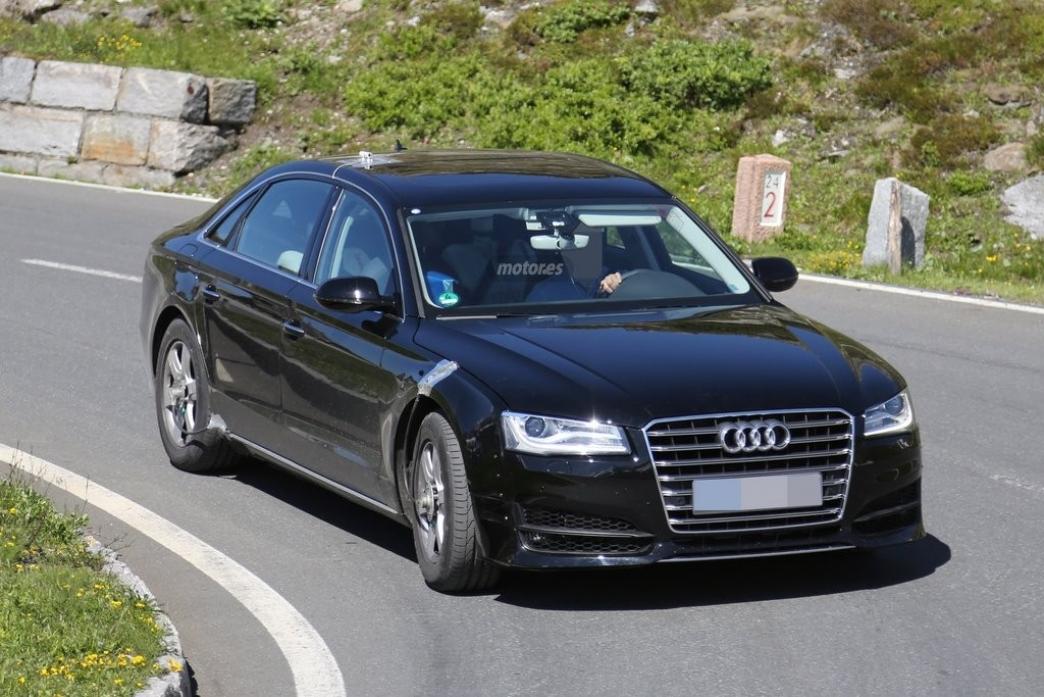 El chasis de la nueva generación del Audi A8, ya en pruebas