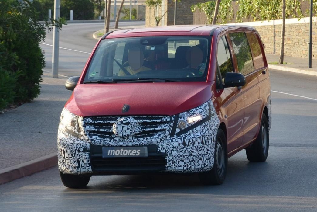 Mercedes Vito 2014, fotografías espía de la nueva furgoneta