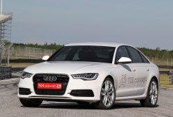 Audi A6 TDI Concept, biturbo eléctrico