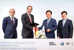 El Grupo BMW y Samsung aumentan su provechosa colaboración