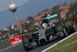 Hamilton hace pleno en los libres de Hungría