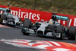 Mercedes se plantea reducir las órdenes de equipo tras Hungría