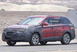Primeras imágenes del Mitsubishi Outlander 2015