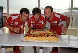 Vídeo de felicitación de Ferrari a Fernando Alonso en su 33 cumpleaños