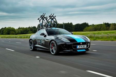 El Jaguar F-Type más ciclista, creado para el Team Sky