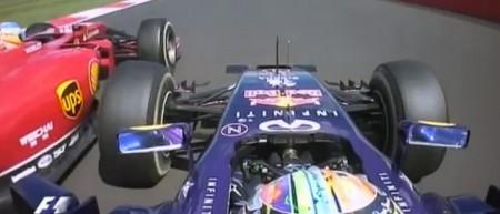 Vídeo de la gran lucha entre Alonso y Vettel