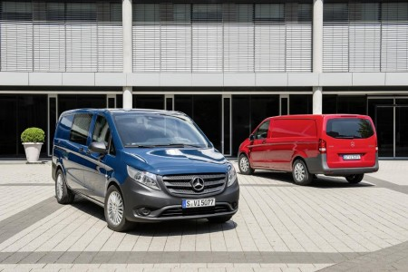 Mercedes-Benz Vito 2014, un vehículo comercial inspirado en el Clase V