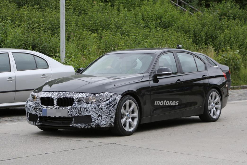 Nuevo BMW Serie 3 2015: fotos espía y novedades mecánicas