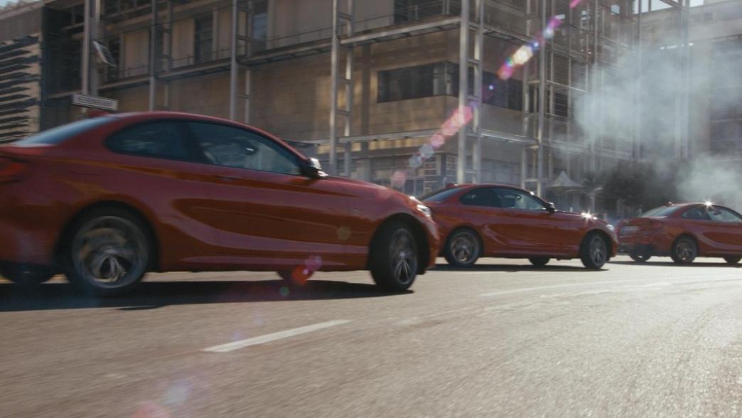 BMW Driftmob, cinco BMW M235i bailando sobre el asfalto