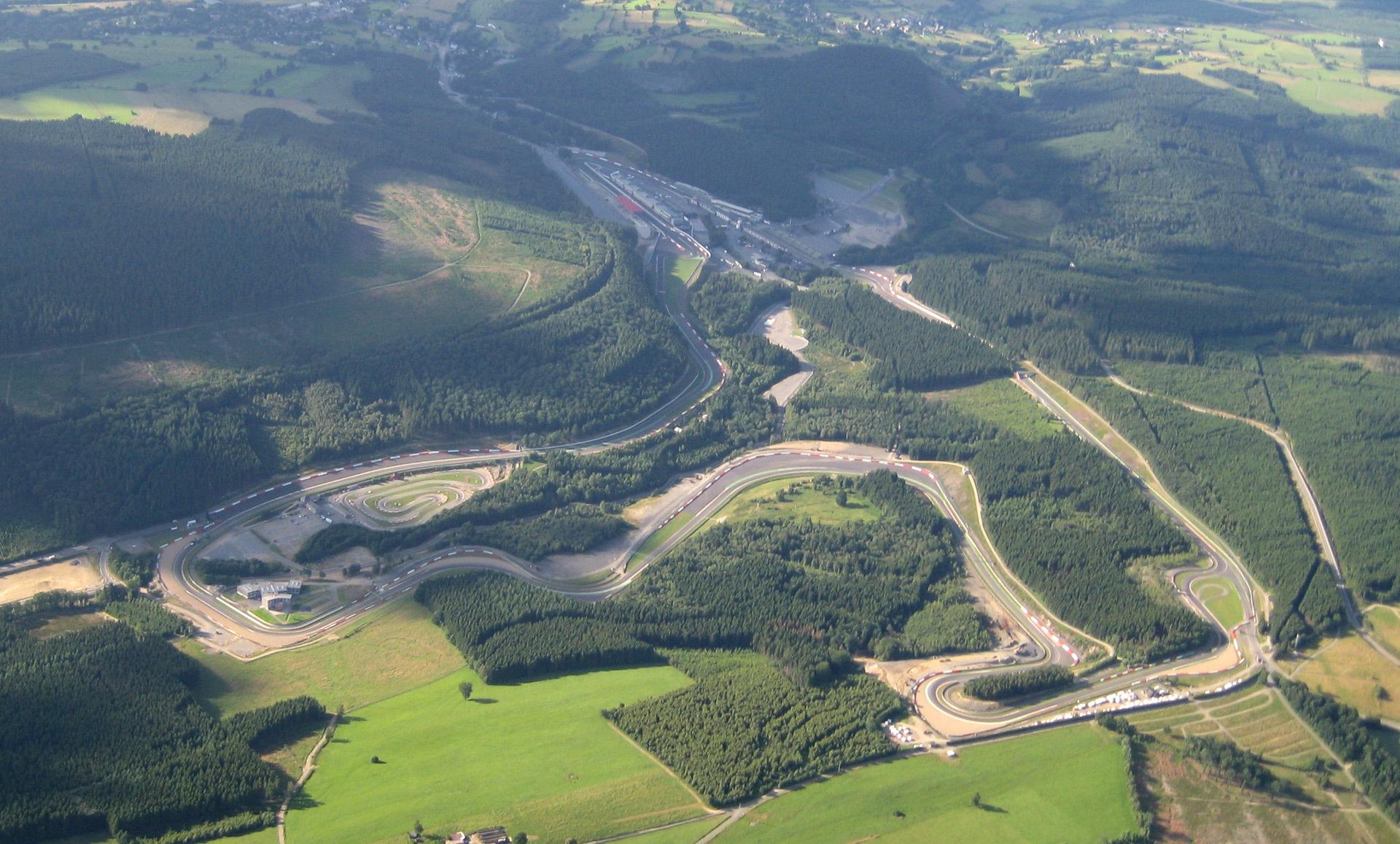 Agenda, horarios del GP de Bélgica F1 2014 y datos del circuito de Spa-Francorchamps