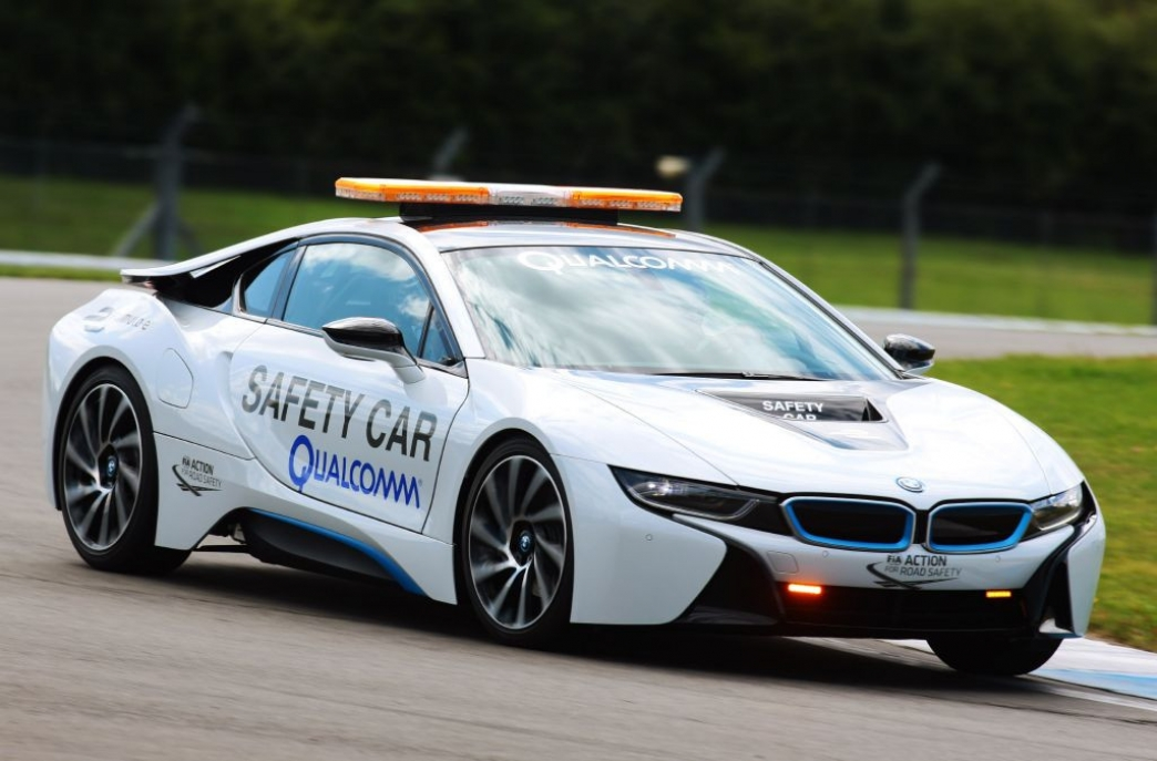 El BMW i8 es el Safety Car de la Fórmula E