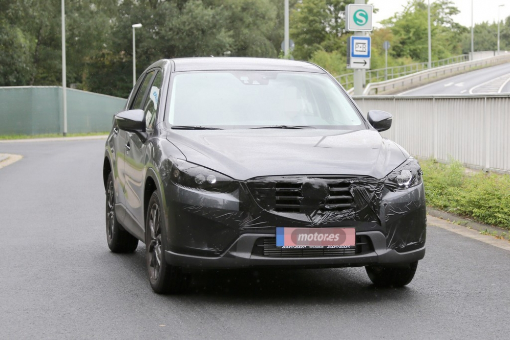 El Mazda CX-5 2015 prepara su restyling