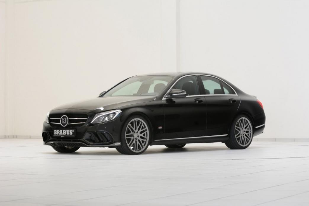Nuevo Mercedes Clase C, con tratamiento Brabus