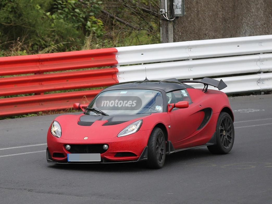 Cazamos al Lotus Elise S Cup R en fase de pruebas