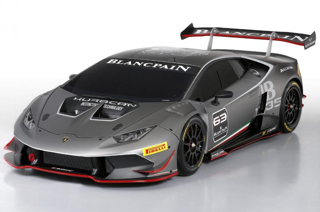 Lamborghini Huracán Super Trofeo, más potencia y menos peso para los circuitos