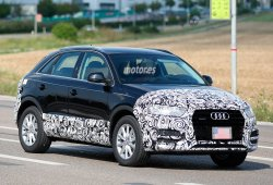 Cazado el Audi Q3 2015, ligeros retoques estéticos para el SUV