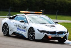 El BMW i8 es el Safety Car de la Fórmula E